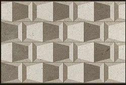 10 - 12 mm White Printed Designer Wall Tiles