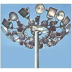 High Mast Lighting Pole High Mast Street Light Poles
