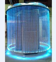 Fiber Optic Chandelier Light