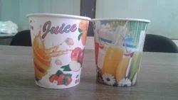 Multi Color Juice Glass