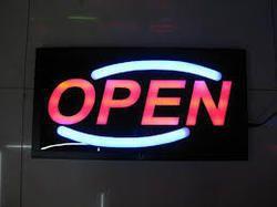 3D Glow Signboard