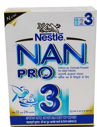 Nestle Nan Pro Stage 3 Refill After 12 Upto 24 Months Milk Powder 400g