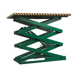Hydraulic Scissor Lifting Machines - Hydraulic Scissor Lift