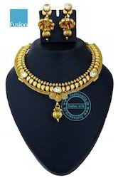 Royal Antique Kundan Necklace Sets