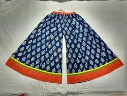 Indigo Blue Divider Skirt