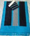 Regular Wear Ikat Cotton Dress Material, Gsm: 100-150