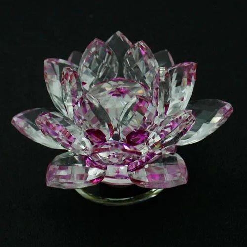 Crystal Lotus Flower At Rs 600 Piece Kirti Nagar New Delhi Id