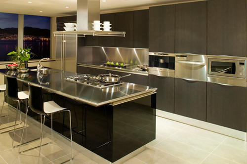 Steel Kitchens Stainless Steel Modern Kitchen