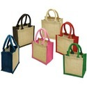 Plain Recycled Grocery Bags, Handle Type: Loop Handle