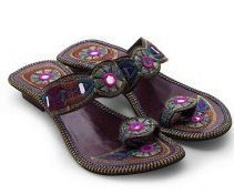 Women Multi Color Traditional High Heeled Chappal