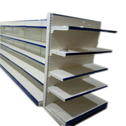 Mild Steel Supermarket Display Rack