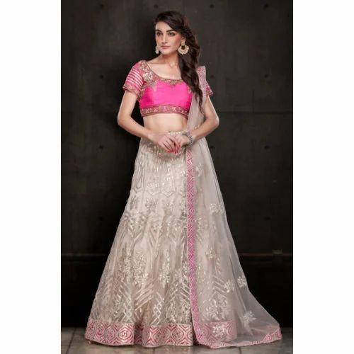 e1b1bda678 Party Wear Gota Work Silk Lehenga Choli, Rs 4000 /piece, Anant ...