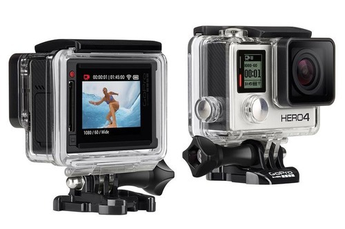 gopro hero 4 silver on rent