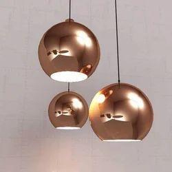 Aluminium Pendant Lamp, 1-2 Kg