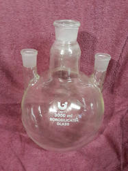 Laboratory Glass Spherical Vessel