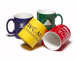 Porcelain Lucky Plastics Printed Mugs Service for Office