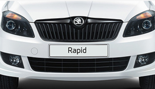 Skoda Rapid Exterior Black Front Grille Service Provider From