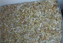 Natural Stone Yellow Agate Chips, 1 Piece = 1 Gram, 5 Carat Per Piece