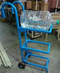 LEANTECH Water Bottle Trolley, Capacity: 3 bottle of 20 liter