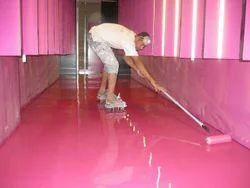 Industrial 500 Sq Ft Epoxy Floor Screeding Service, North India