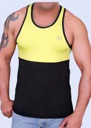 Yellow & Maroon Dryfit Lycra Sports Sandow