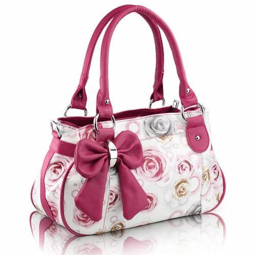 Printed Ladies Hand Bag Women Hand Bags ल ड ज ह ड ब ग