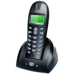 Black Oregon Digital Cordless Telephone