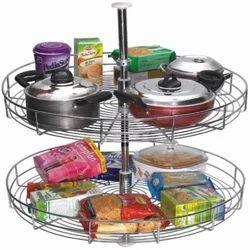 Full Round SS Kitchen Basket