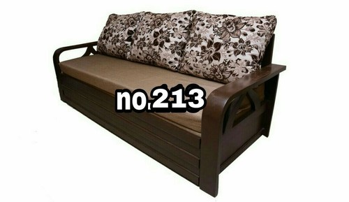 Wooden 3 Seater Decorative Sofa cum bed