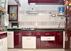 Laminated PVC Modular Kitchen
