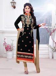 Black Cambric Cotton Suit