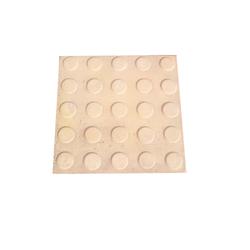 Matt 1 Square Feet Button pattern chequered Floor Tiles, Thickness: 10 - 12 mm, Size: Medium