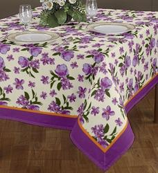 Border Attached Tablecloth