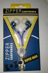 Multicolor Good Zipper Earphone
