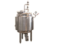Stainless Steel Jacketed Vessel, Capacity: 100-500 L