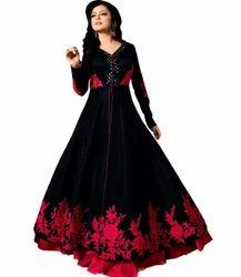 Designer Party Wear Semi Stitch Salwar Kameez