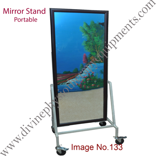 portable mirror stand