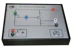 UJT Relaxation Oscillator Trainer