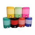 Round 18 Liter Plastic Water Camper, Weight: 2 Kg