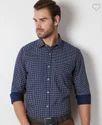 Peter England Navy Shirt