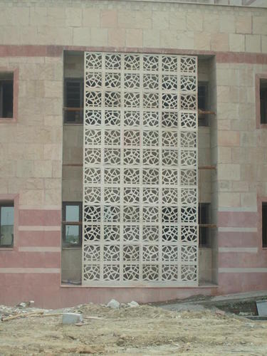 GRC Jali Elevation At Rs 40 Square Feets GRC Mesh Glass Fiber Extraordinary Grc Decoration Design