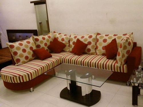 One Side Handle Corner Sofa