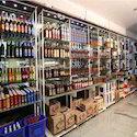 Bottles Display Shelves