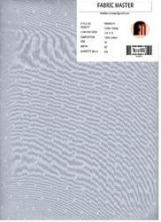 Cotton Dobby Fabrics FM000374