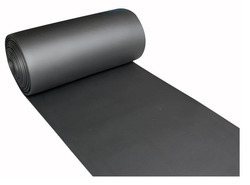 Laxmi Rubber Black Shot Blasting Rubber Sheets, Packaging Type: Roll