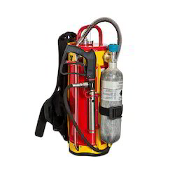 Backpack Water Mist and Caf Fire Fighting Equipment