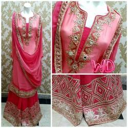 Party Wear Gota Patti Suit