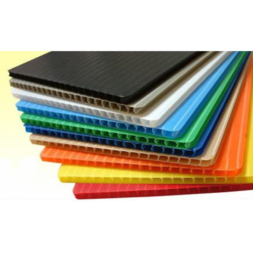 Corrugated Plastic Sheet, For Multipal, Width: Custom, Rs 69 /piece | ID:  10974925733
