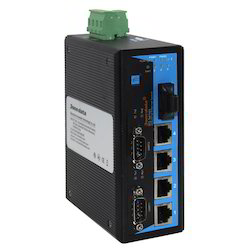 Industrial Ethernet Switch With Serial Devices Servers