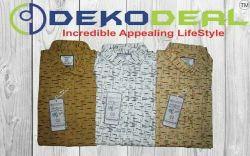 Dekodeal Poplin Cotton Print Shirt, Size: M, L & XL